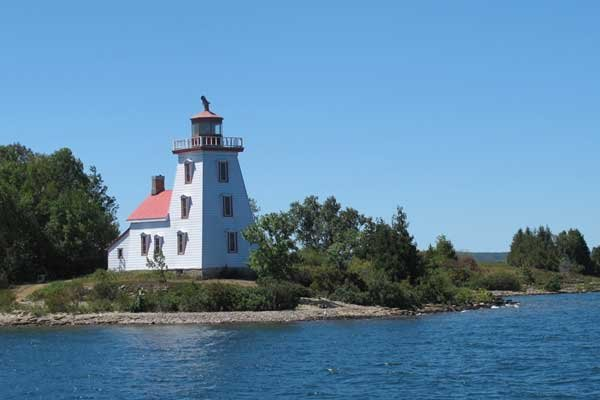 Photo of Strawberry Island Light