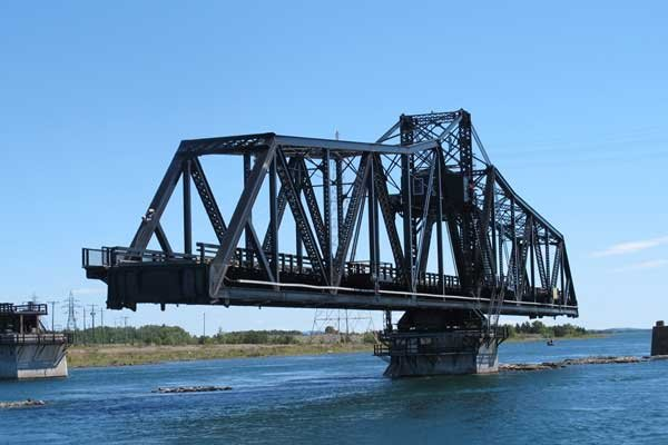 Photo of Little Current Swing Bridge