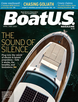 BoatUS Magazine April-May 2020 cover