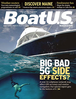 BoatUS Magazine February-March 2021 cover