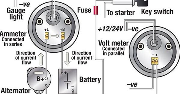 Troubleshooting Boat Gauges, Vdo Fuel Gauge Wiring Diagram