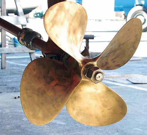 Clean Propellor
