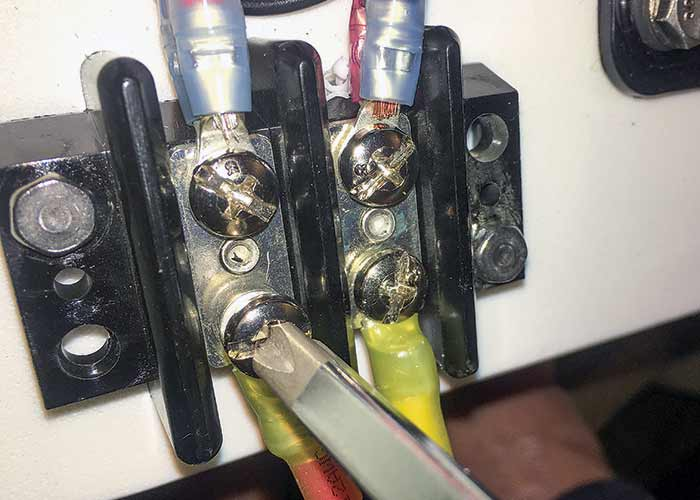 Crimped connections