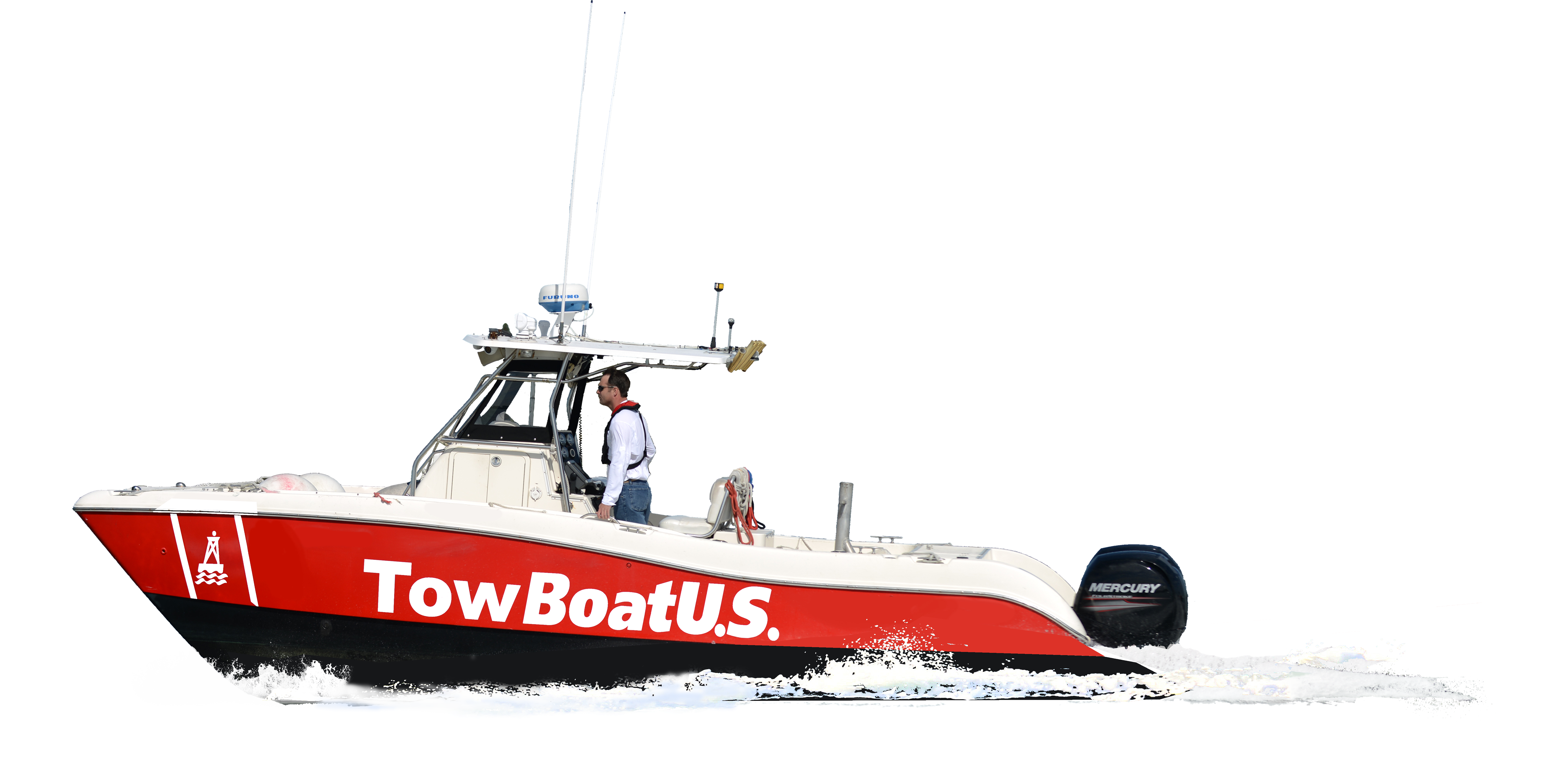 Towing Package Saltwater Boat