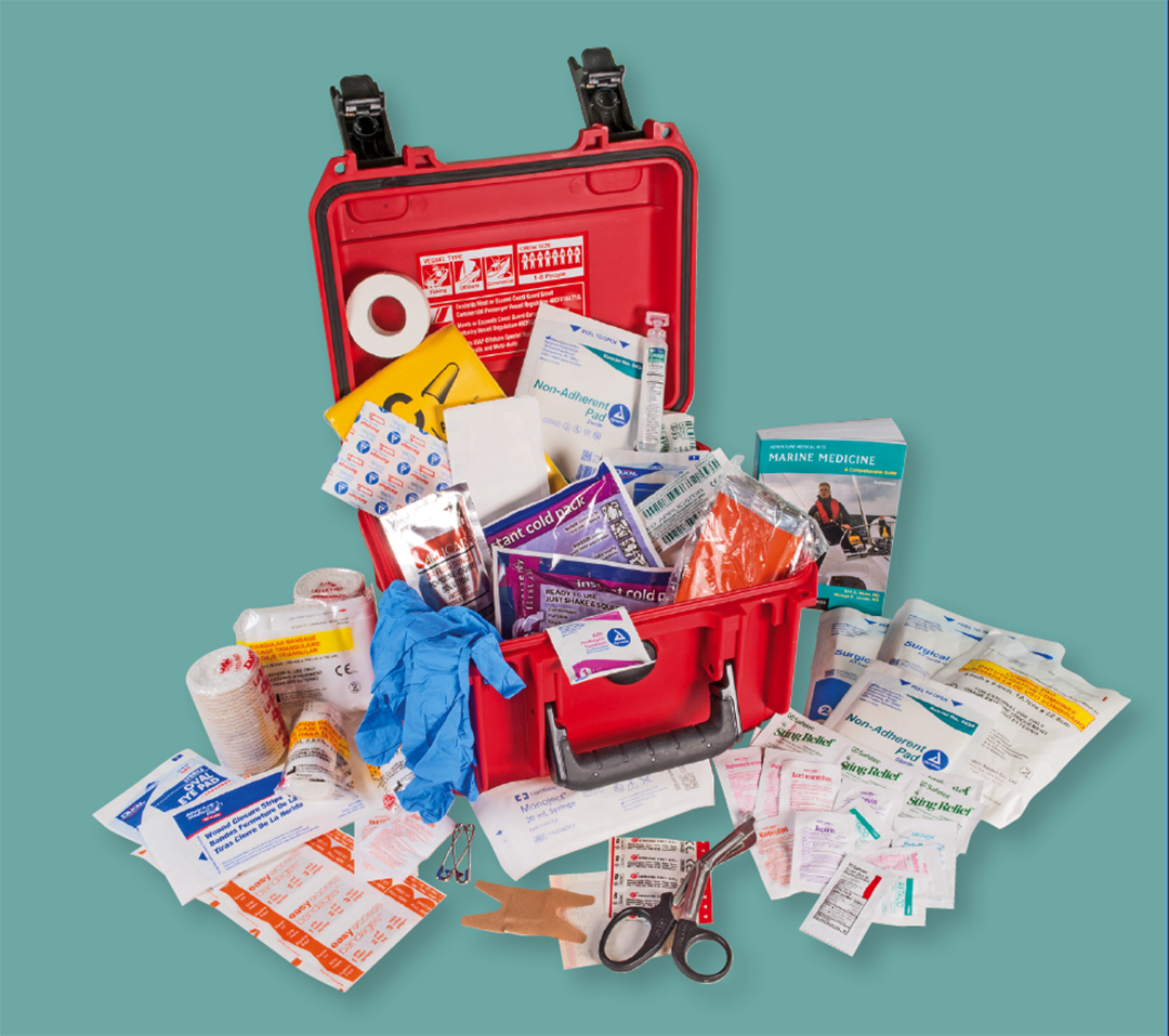 Open Boating First Aid Kit