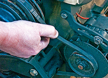 How To Tighten Your Boat Alternator Belt Boatus