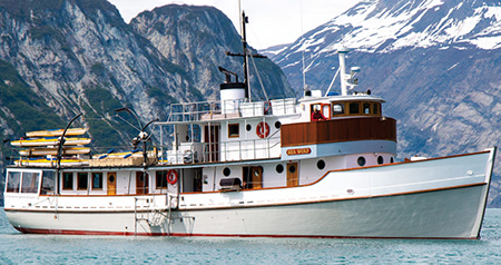Sea Wolf, the 97-foot oceangoing ship