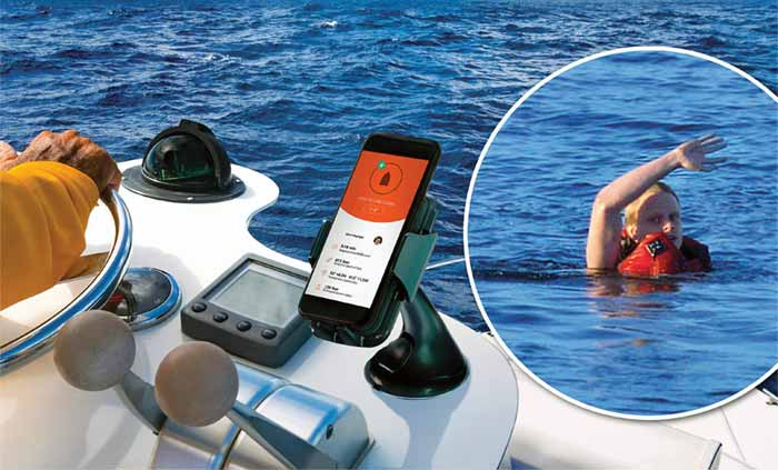 Man overboard safety device