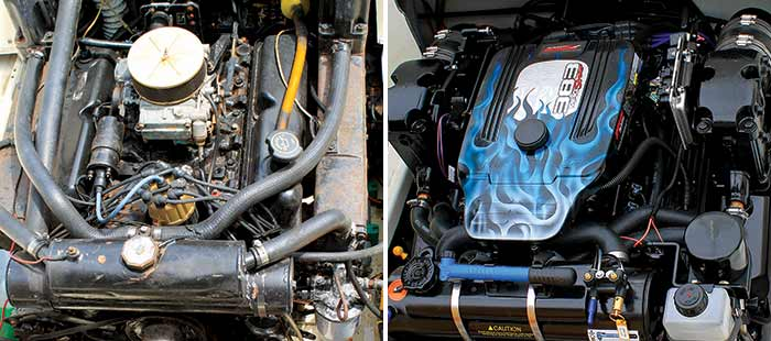 Agean 24 engine before and after makeover