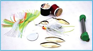 Supplies to renew old fishing lures