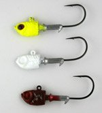 Swim jigs after painting