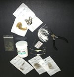 Spinnerbait components and tools