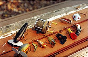 Photo of collector fishing lures