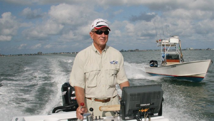 Photo of Capt. Bill Miller on his fishing boat