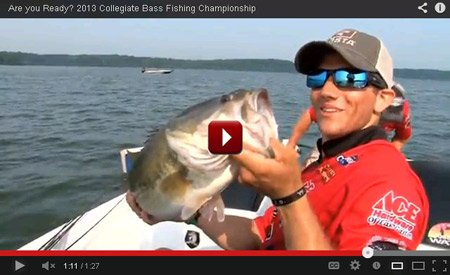 Promotional videos for BoatUS Collegiate Bass Fishing Championship