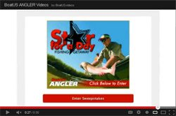 BoatUS ANGLER Star For A Day Sweepstakes