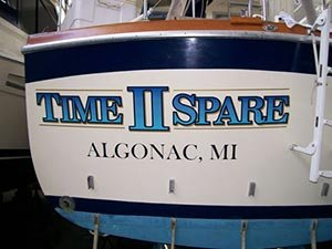 Photo of Time II Spare boat name