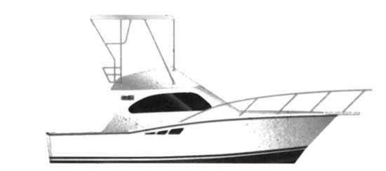 Luhrs 320 Convertible