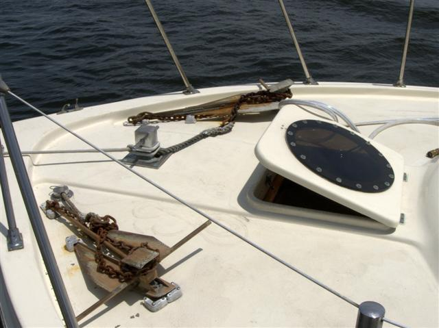 how to clean repair boat hatch