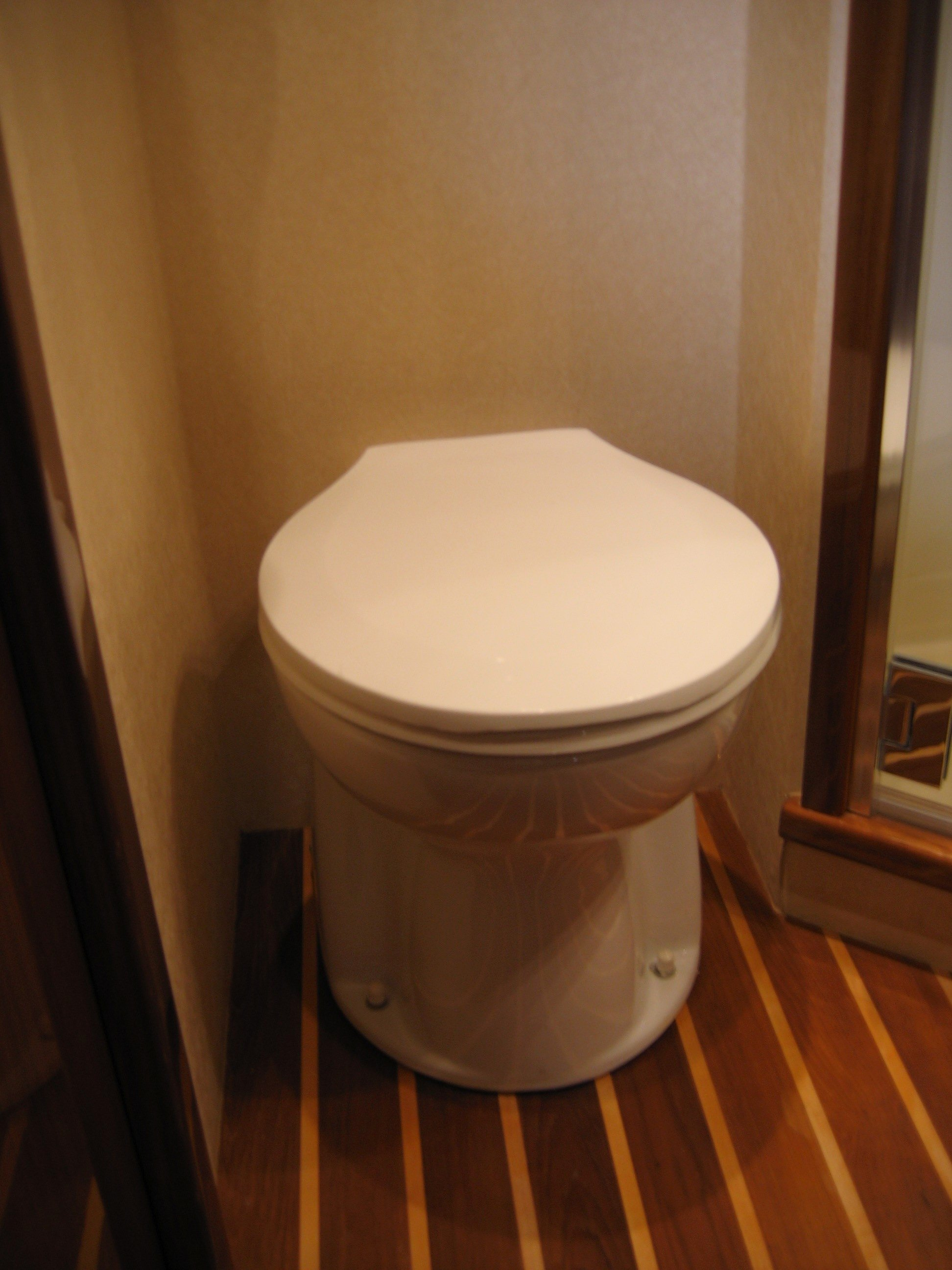 Image Result For Fitting A Marine Toilet