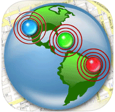 Friend mapper app icon