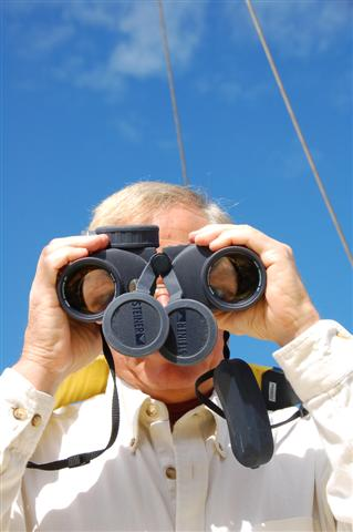 Image Stabilization Binoculars, Photo by Mel Neale