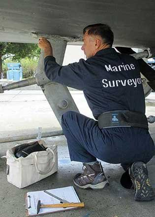 Photo of conducting a marine survey