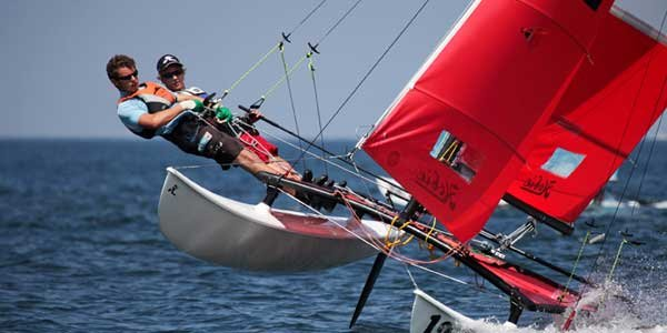 Photo of a Beach Catamaran - Hobie 16