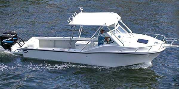 Photo of a Cuddy Cabin Boat - Dusky 256