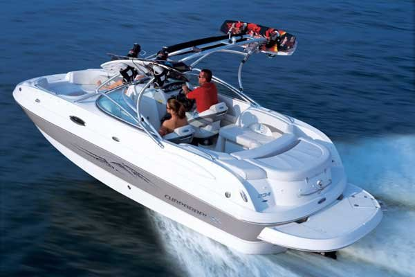Photo of a Deck Boat - Chapparral Sunesta 234
