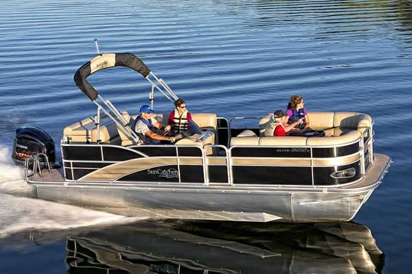 Photo of a Pontoon Boat - SunCatcher Elite 322 C