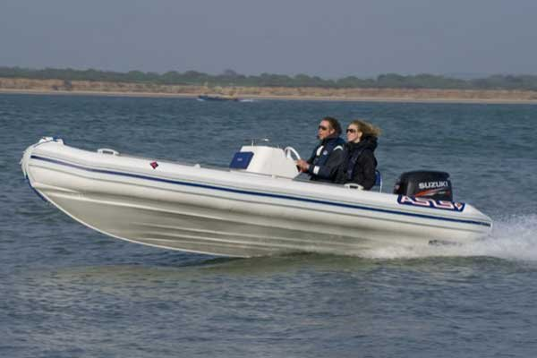 Photo of a Rigid Inflatable Boat - ASIS Mamba 5.1