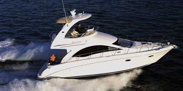 Photo of a Sedan Bridge Boat - Sea Ray 36