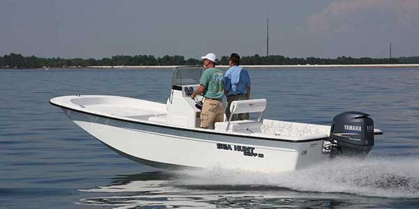 Photo of a Sea Hunt Skiff 21