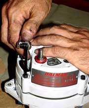 Photo of the new Balmar alternator