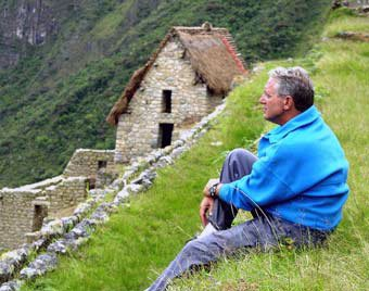 Photo of Douglas at Machu Picchu