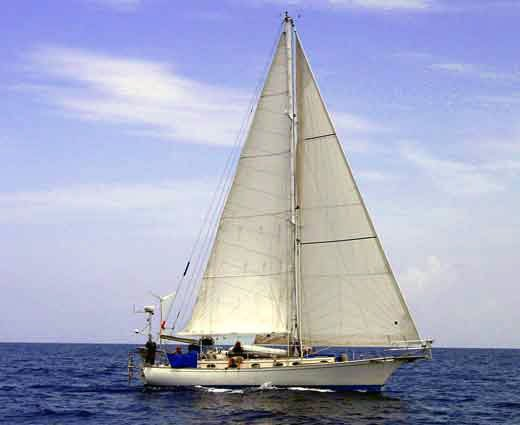 Photo of Ithaka sailing