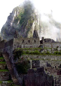 Photo of the temples of Machu Picchu