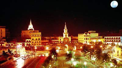 Photo of the magical light of Cartagena at night