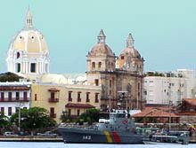 Photo of Cartagena's Old City skyline