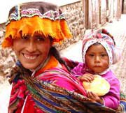 Photo of Quechuan woman in traditional clothing