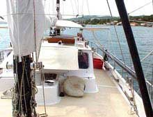 Photo of the view of deck of the Baerne