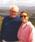 Photo of Bernadette Bernon and her Dad