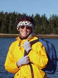 Photo of Bernadette at Winter Harbor, Maine