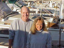 Photo of Bill Roche and Lynda Childress