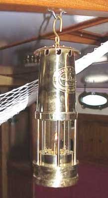 Photo of brass lantern
