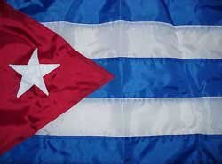 Photo of Cuban flag