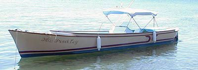 Photo of Captain Archer's Dory the Miss French Cay