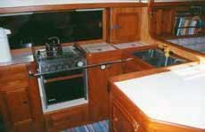 Photo of Ithaka's galley