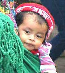 Photo of a Guatemalan child